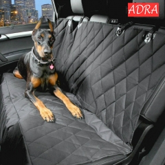 600D Oxford  Car Pet Seat Cushion Rear Bench Back Cover Mat Waterproof Anti-slip Foldable Car Mats A one size