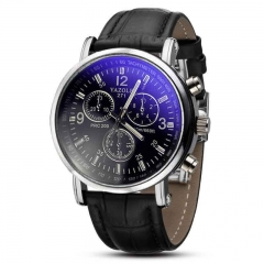Men Fashion Quartz Watch Business Mens Watches Luxury clock Male WristWatches black black 40mm