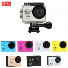 HD 1080P 30M Waterproof Sports Camera Video mini Camera DV Camcorder Outdoor Cam black one size