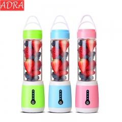 ADRA Juice Cup 6 Cutter Head Rechargeable Portable Juicer USB Port Blue