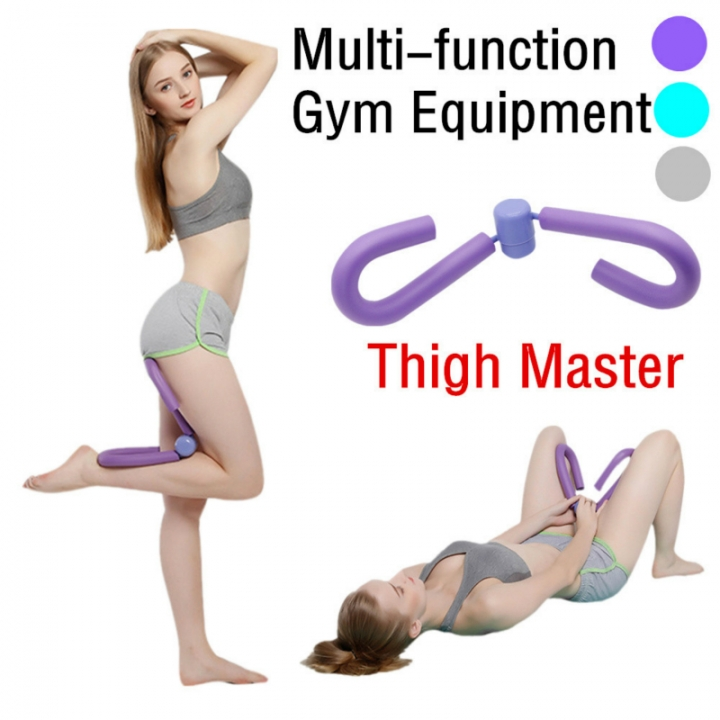 Multifunctional Fitness Legs Device Home Fitness Equipment Leg Trainers Beautiful Thigh Master Arm Purple