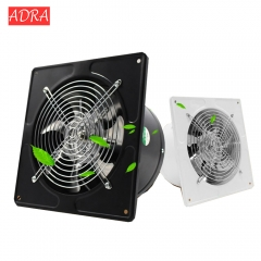 Kitchen toilet exhaust fan louver window exhaust fan air ventilation fans draft Blower Bathroom 220v Black