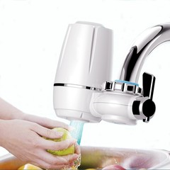 Hight Quality kitchen Faucets Filter Household water purifier washable Ceramic filter white one size