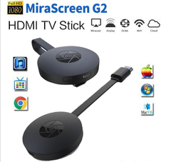 WiFi Display 1080P Miracast Chromecast 2 HDMI Receiver for Tablet/Phone to TV Projectors