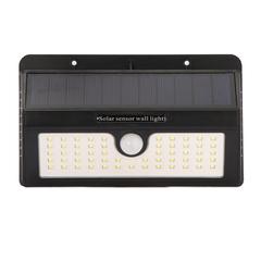 55LED Solar Motion Sensor Light Waterproof Garden Light Outdoors Wall Lamp warm lights 1pcs