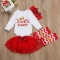 Girls' Daily Color Block Clothing Set, Cotton Spring Long Sleeves Cute Red ZM114A red 70