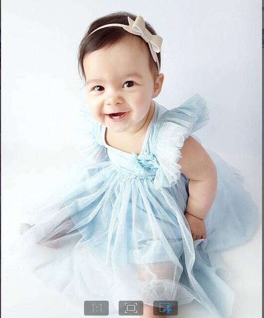 Girl's Daily Holiday Solid Dress, Rayon Summer All Seasons Sleeveless Cute Light Blue HY054A light blue 80