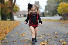 Kids Baby Romper Summer Girl Jumpsuit Casual Clothing GD162A red 70