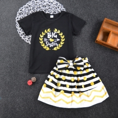 Children's clothing Baby Girls T-shirt Dress Print