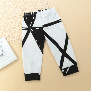 ba2d7748d5005 Cute Newborn Baby Boys Girls Unisex Pants Toddler Trousers Bottoms white  GG024B 80