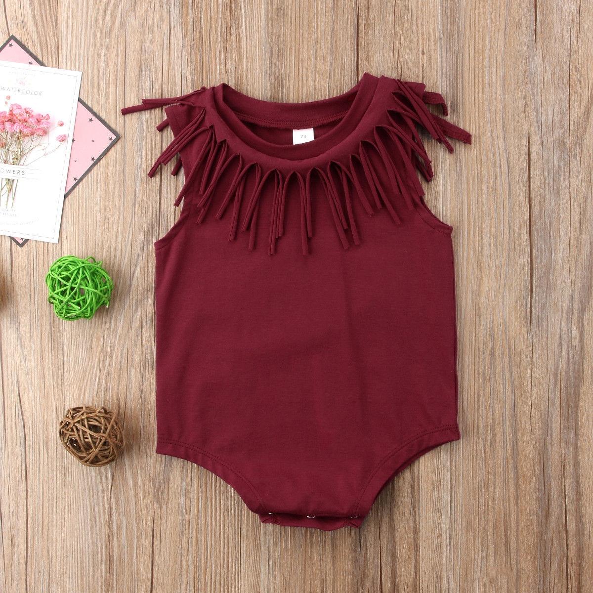 9920a69cf58 Newborn Infant Baby Girls Boy Romper Bodysuit Jumpsuit Outfits ...