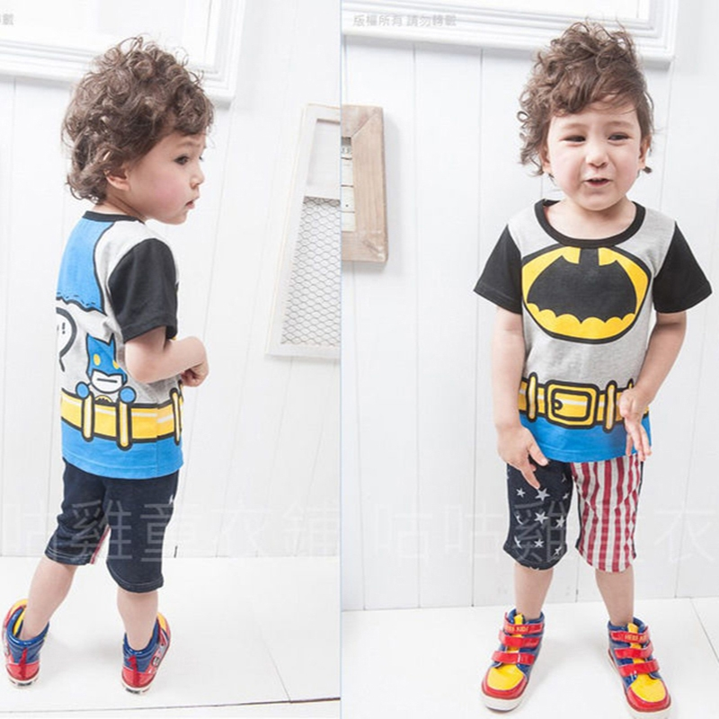 40cf6479e53d Baby Boys Shirt Summer Short Sleeve Tops+short pants Toddler Kids Suit  Clothes GX188A gray 100  Product No  1850576. Item specifics  Brand