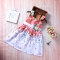 Newborn Baby Kids Girl Dress Toddler Clothing Princess Vest Dresses pink GZ015A 100