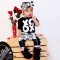 2PCs Newborn Kids Baby Girl Casual T-shirt Tops Pants Leggings Outfits Clothes black GG072A 80