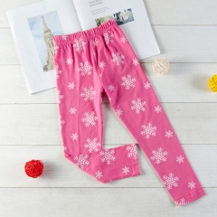 Promotion Clearance Baby Girl Pants Toddler Pants Casual Sleep Pajamas pink GX154A 100