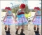 1PC Kid Baby Girl Floral Bule Dress Sleeveless Sling Casual Dress Children Girl Clothes Outfit blue GX114A 90