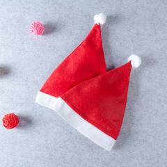Christmas hat Toddler Newborn Kids Adult Boys Girls Basics Hat red Adult