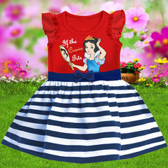 Children's clothes Kids Girls Princess Snow White Birthday Party Gift Girls Dress Red GL004A 100