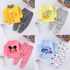 Toddler Newborn Kids Baby Boys Girls Long Sleeve Cartoon Tops+Printed Pants Set Clothes Pajamas Giraffe 0T009A 70