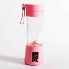Electrically operated Mini Juicer home portable multifunctional fruit juice cup pink