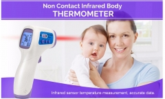 Domestic infrared thermometer non-contact thermometer baby electronic thermometer white