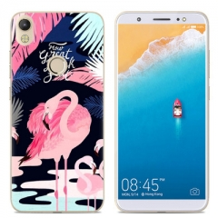 Phone Case For TECNO CM TECNO CXAIR Cute Cartoon Painted TPU Soft Case Silicone Cover phone covers 1# for tecno cm