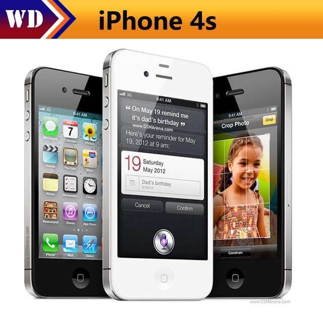 Certified Refurbished:iPhone 4S-3.5'',16GB,Authentic Guaranteed,Unlocked Smart Mobile Phone black