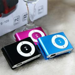 Portable MP3 Player Mini Clip MP3 Player Waterproof Sport Mp3 Music Player Walkman Lettore Mp3 Gift blue