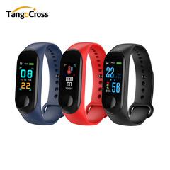 LED Smart Watch Men and Women Universal Smart Bracelet Watch M3 Waterproof Wristbands Tracker black one size