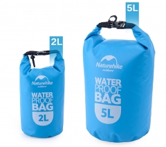 Outdoor Waterproof Bags Ultralight Camping Hiking Dry Organizers Drifting Kayaking Swimming Bags blue 2L