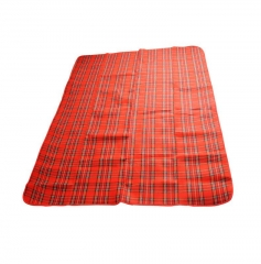 Outdoor Beach Garden Moisture proof Picnic Grass Blanket Camping Hiking Sleeping Mat Mattress Tents red