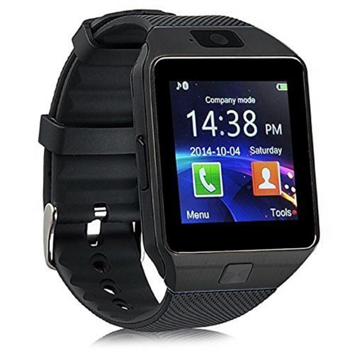DZ09  Bluetooth Smart Watches SIM/TF Sport Pedometer Smart Wristwatch for Android Infinix /Cubot black one size