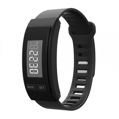 H40 Wristband Pedometer Passometer Calorie Tracker Smart Band Fitness Bracelet Step/Date Sport Watch black one size
