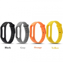 4Pcs for Xiaomi mi band 2 Wrist Strap Belt Silicone Colorful Wristband for Mi Band 2 Smart Bracelet 1 one size
