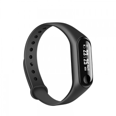 Smart Wristband Bluetooth Heart Rate Monitor Blood Pressure Pedometer Sleep Tracker SMS Reminder black one size