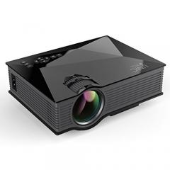 Amorus UNIC UC46 Portable 1080P WiFi LED Projector BLACK