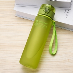 Generic 560 Ml  Drop Resistance Water Bottle Leakproof Infuser Space Cup Portable Green 560ml