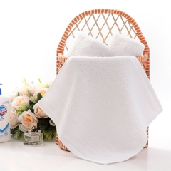 100%cotton high quality  face towel white 28cmX28cm 1Pcs white 28X28cm