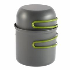 Outdoor Portable Cookware Anodised Aluminum Pot Bowl Camping Utensils 2pcs/Set