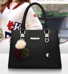 Fashion  handbag  Shoulder Messenger Bags  PU Handbags black As Picture