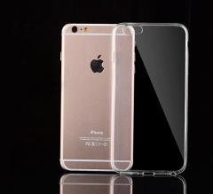 1pcs Transparent silicone case for iPhone6S transparent 6S
