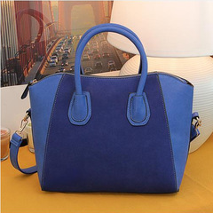 Fashion   Shoulder Messenger Bags   Big Handbag blue one size