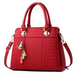 Fashion Women Handbag  Shoulder  Bag red one size