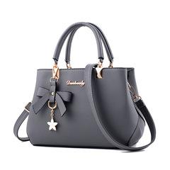 New Fashion HandBag Shoulder Messenger Bags / PU Leather Handbags gray one size