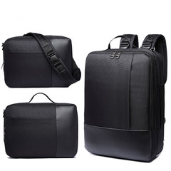Men's Bag Briefcase  Universal Backpack Single Shoulder /Shoulders/Portable Bag black one size