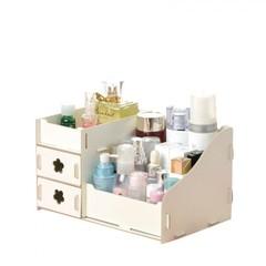 Desktop  Storage Box  / Makeup Cosmetics Storage Box / Storage Box white