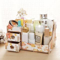 Desktop  Storage Box  / Makeup Cosmetics Storage Box / Storage Box flower