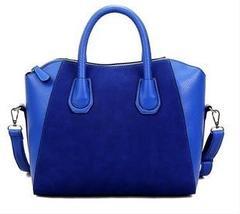 Fashion   Shoulder Messenger Bags   Big Handbag blue one size