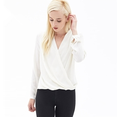 Women's Tops / Tops / Blouse/ Chiffon shirt  / Short Sleeve Shirt white s