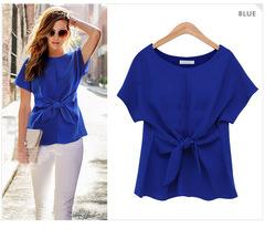 Women's clothing/ Women's Chiffon Tops /Women's Tops / Tops blue s